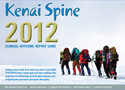 clinical outcomes for spine, clinical outcomes for kenai, alaska